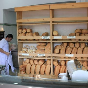 Men from Has kept the Albanian tradition of bread baking