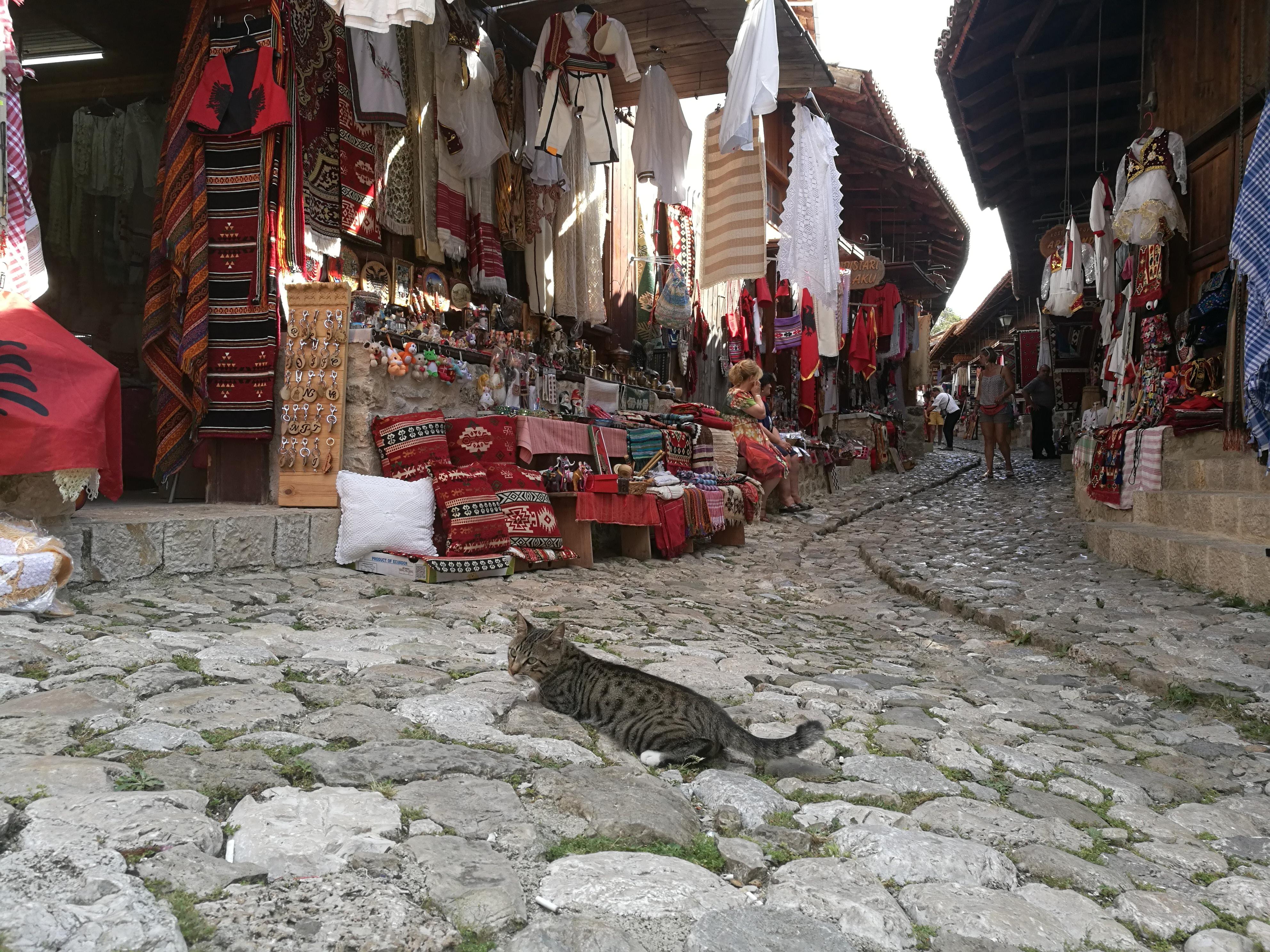 old bazaar, kruja