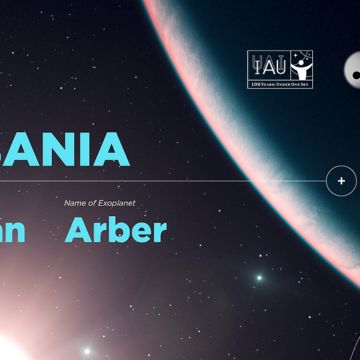 Albanians Name Star and its Exoplanet Illyrian and Arber