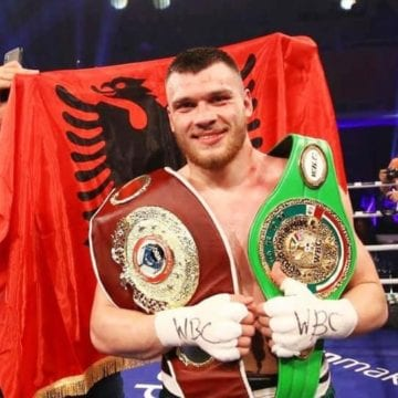 Jurgen Uldedaj, the Albanian Boxer Claims World Championship