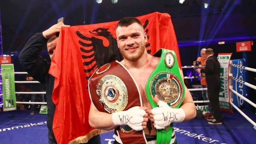 Jurgen Uldedaj, the Albanian Boxer Claims World Championship