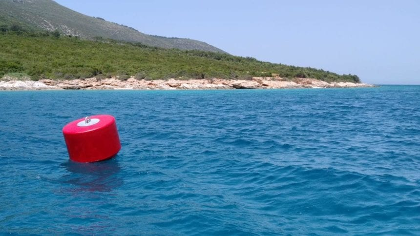 Mooring Buoys to Protect Seafloor Habitat in Karaburun-Sazan
