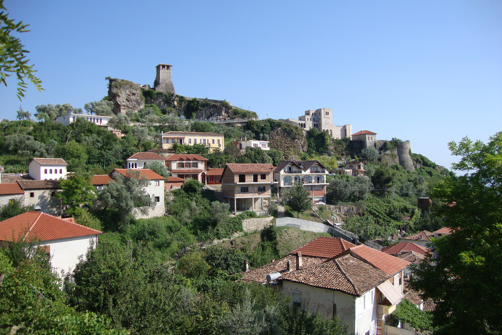 Kruja city castle