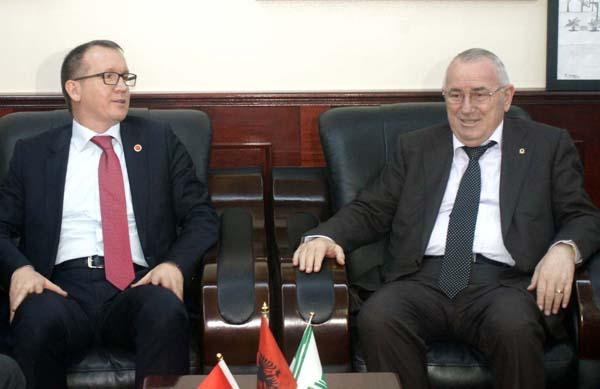 Elbasani and Bursa Municipalities, joint projects in fields of mutual interest