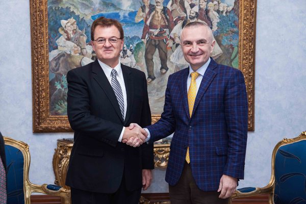 Albania and Canada excellent parntership praised by Ilir Meta and Leon Benoit