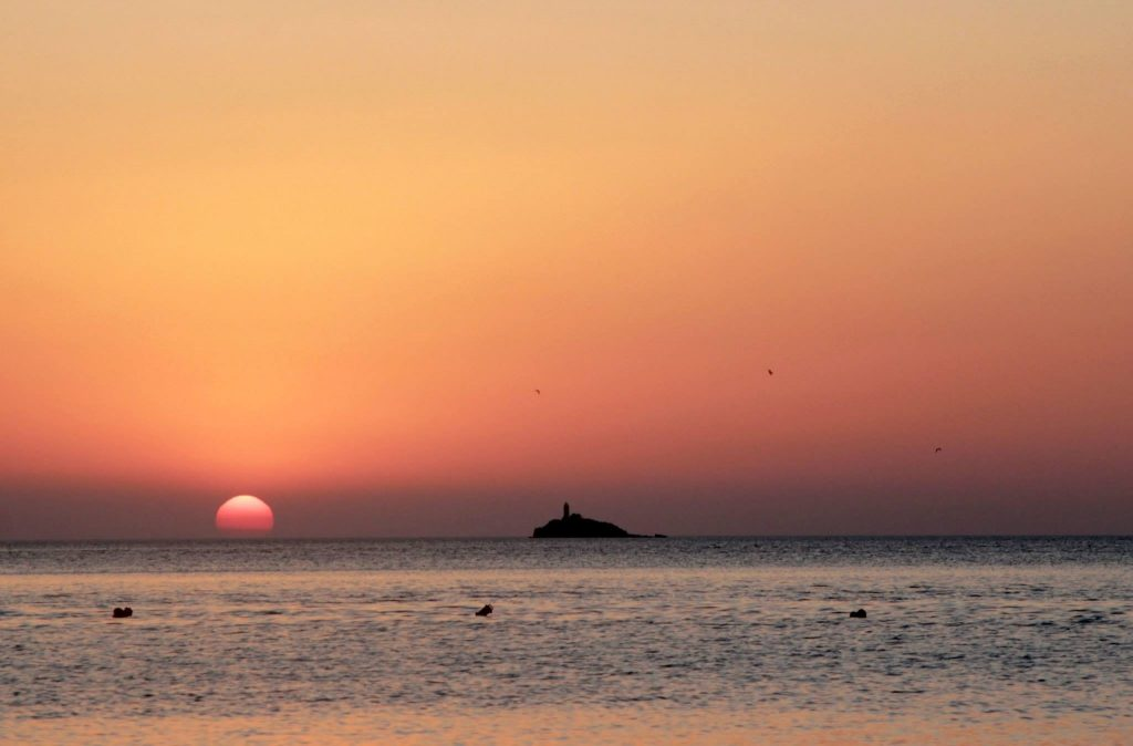 Sunset of Ksamil
