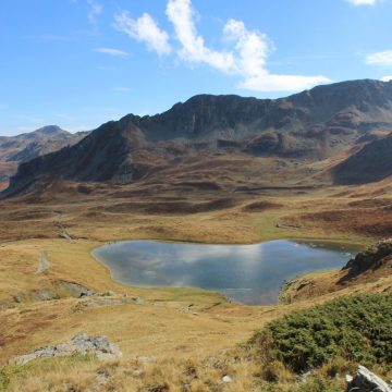 Glacial lakes in nothern Albania, a new tourism attraction