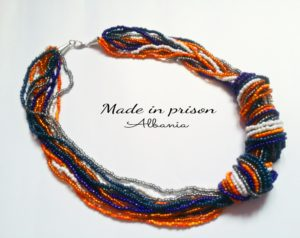 Made in Prison Albania necklace