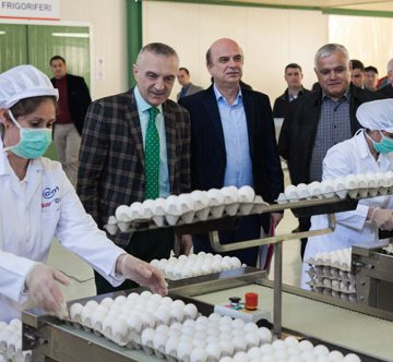 Minister Panariti: Albania is ready to export eggs in the European Union markets
