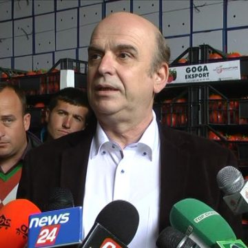 """Made in Albania"" products to increase economy, says Minister of Agriculture"