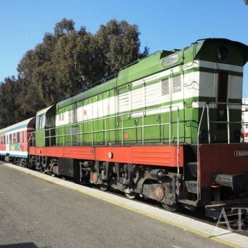Companies in Albania now use railway lines to transport merchandise