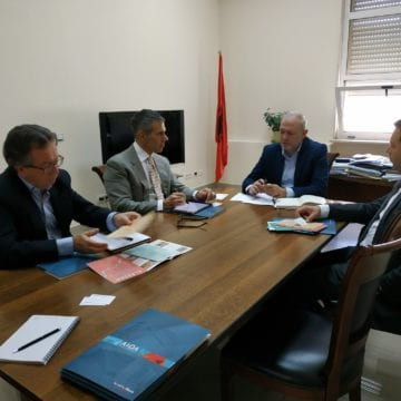 The Romanian Business Delegation visit Tirana