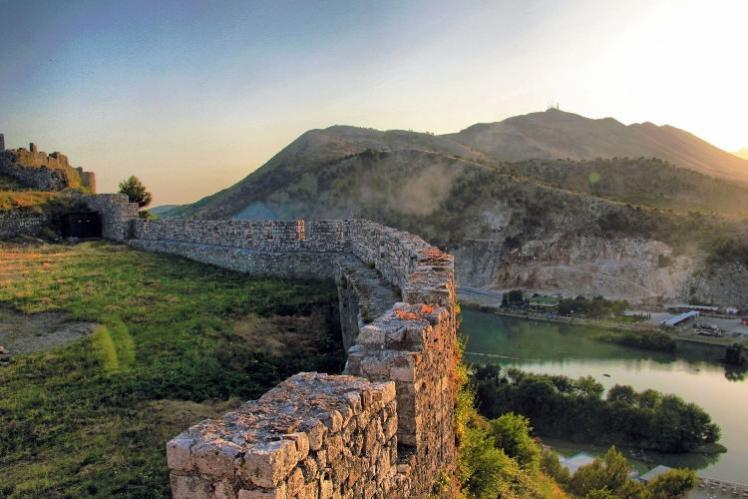 Rozafa Castle Albania
