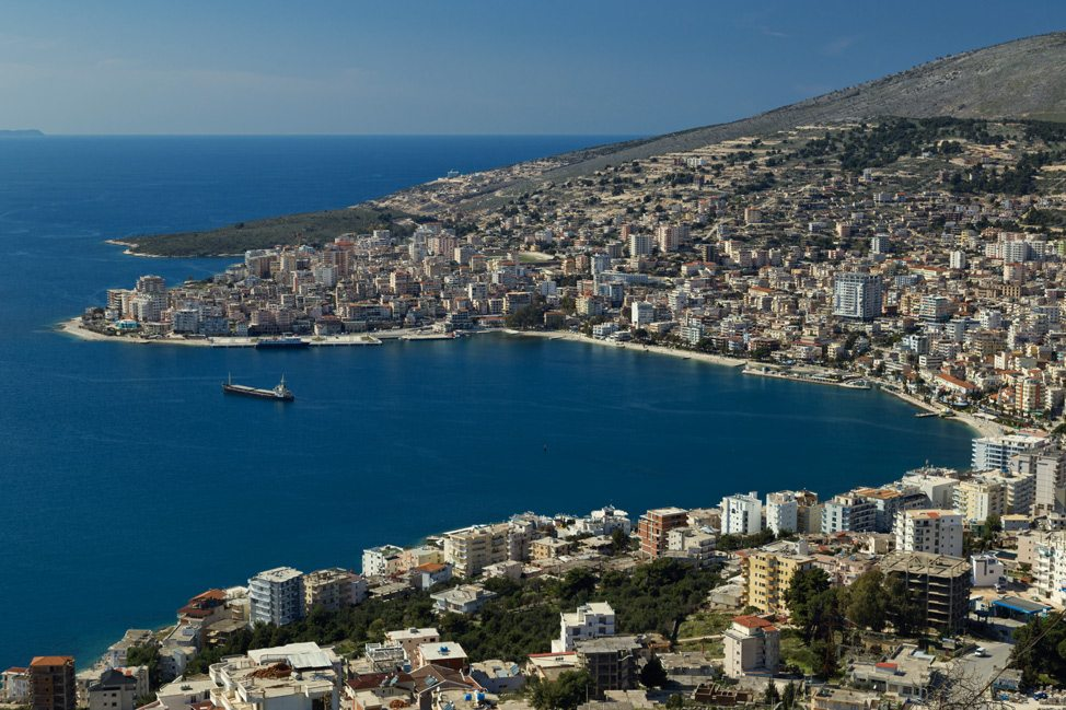 Sarande from Above
