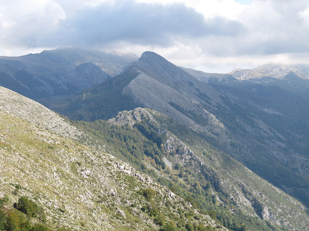 shebenik mountains