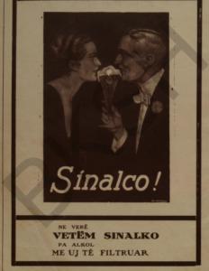 Sinalco beverages banner