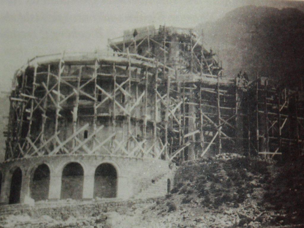 Skanderbeg Museum construction