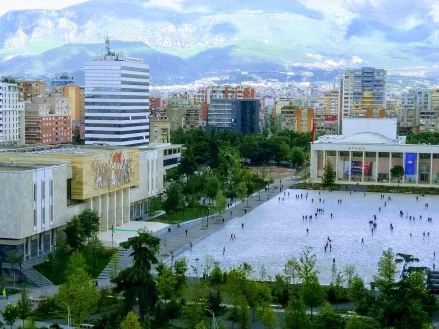 Tirana is the Main City for Foreign Investments
