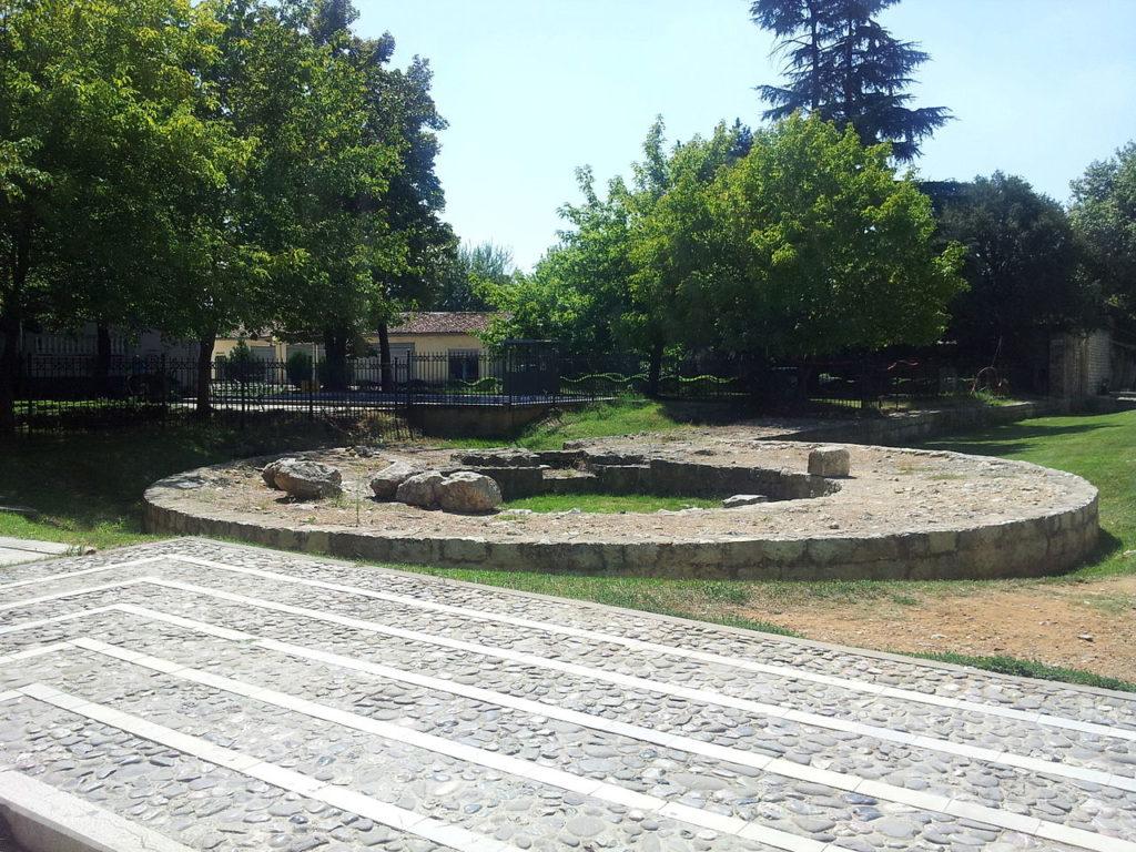 Tirana Castle ruins