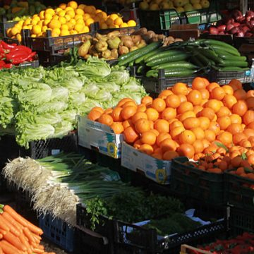 Exports of fruits and vegetables doubled during 2014