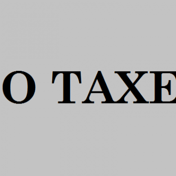 No taxes for businesses with annual turnover less than ALL 5.000.000