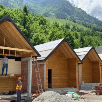 Tourist's Center in Valbona Under Reconstruction