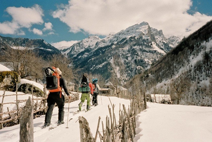 Exploring the Albanian Alps: A Free Ride Trip