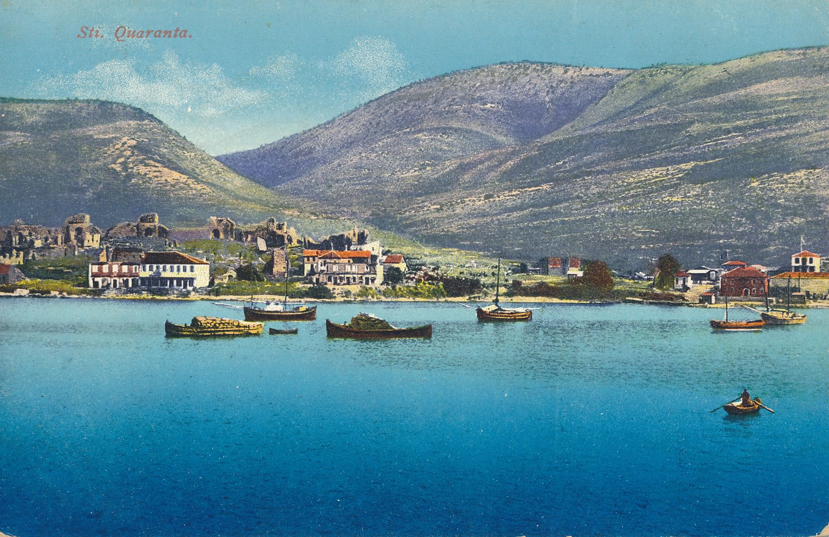 postcard of Saranda