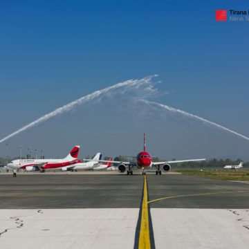 Tirana-Zurich Direct Flight Inaugurated