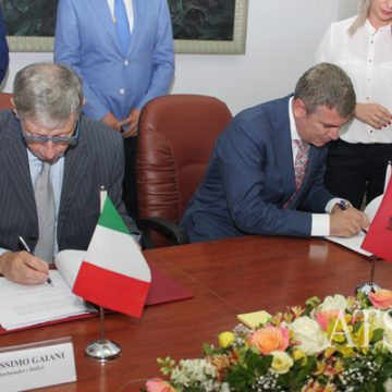 Italy gives EUR 16.5 million for the electrical energy system in Albania