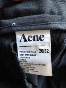 Acne Jeans - Made in Albania
