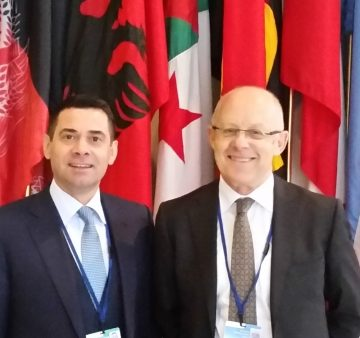 Albanian Ministers attend the annual meeting of World Bank & IMF