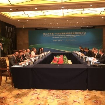 Albania, China Officials Discuss Areas of Trade and Investment Cooperation