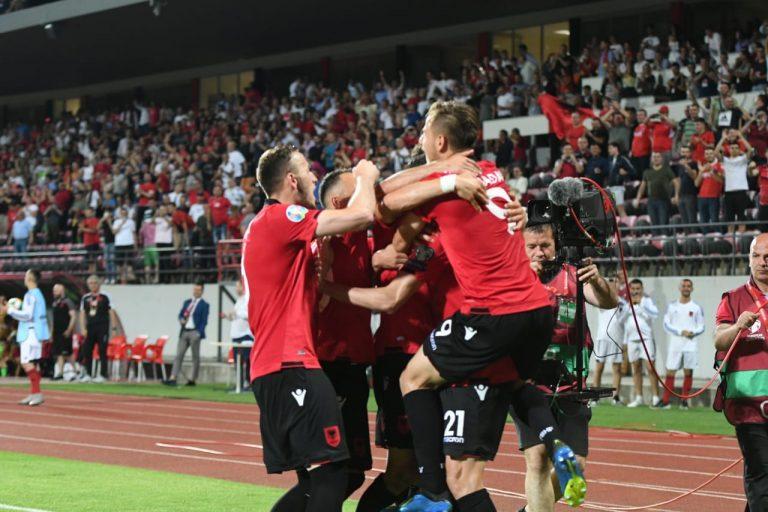 Albania Wins Against Moldova 2-0 in UEFA Euro 2020 Qualifiers