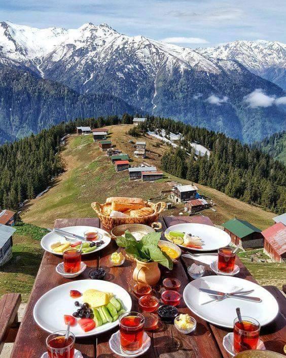 Albanian Alps food
