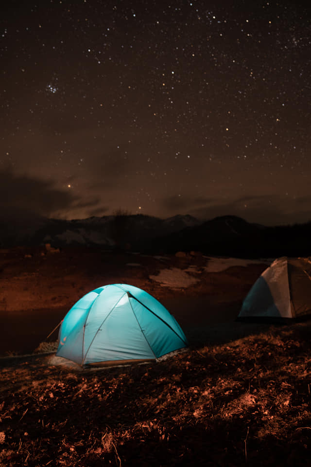 Camping at Shebenik Jabllanica