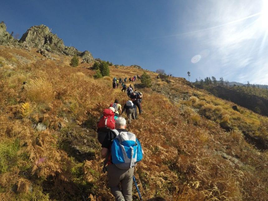 Hiking in the Mountain of the Balkan Lynx
