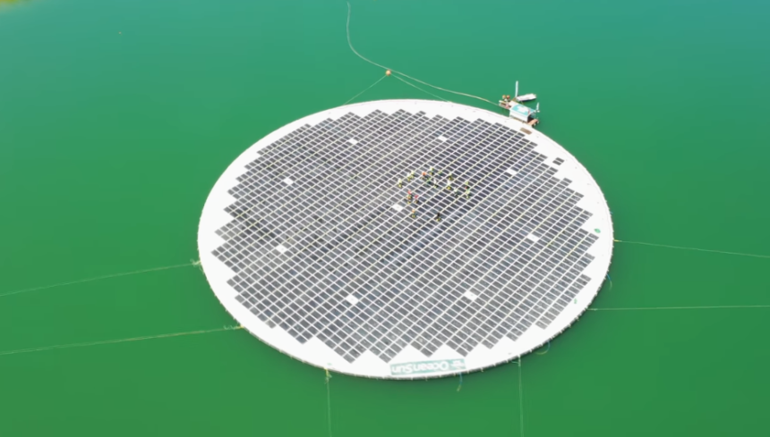 First Floating Solar Plant Starts Commercial Operations in Albania