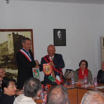 Twinning partnership between Berat city of Albania and French Bérat commune