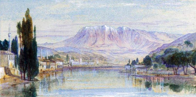 Berat Albania Edward Lear