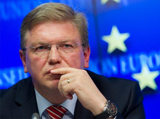 EU Commissioner Stefan Fule: Albania won the EU candidate status