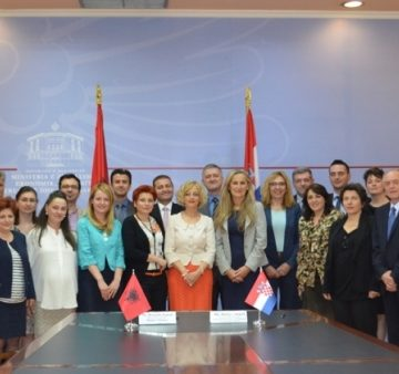 Albania and Croatia hold the Fourth Joint Session for Economic Cooperation in Tirana
