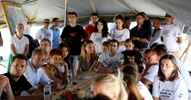 Golem Camp of Volunteers, a new initiative to change the image of the coast