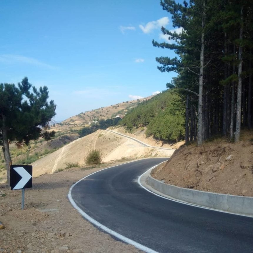 New Road Connects Albania and Kosovo in Borje