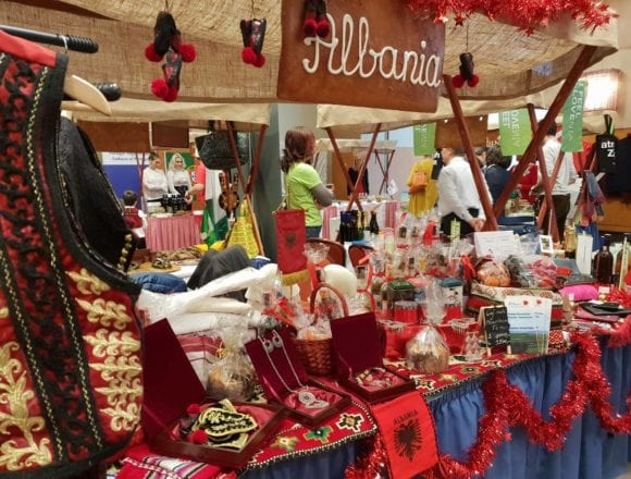Albanian Products Showcased at VIII Diplomatic Fair in Budapest