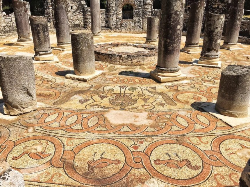 Butrint Mosaics to Be Covered Up on September 15