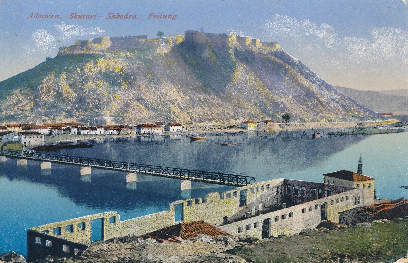 Shkodra postcard