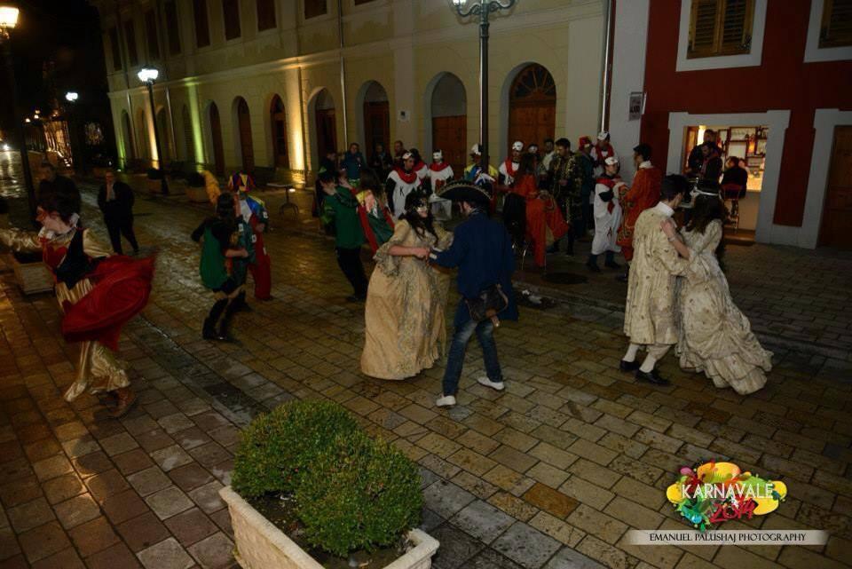 Shkodra carnival celebrations