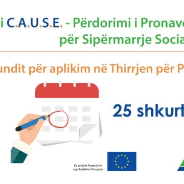 Call for Proposals for 'Confiscated Assets Used for Social Enterprises' Extended