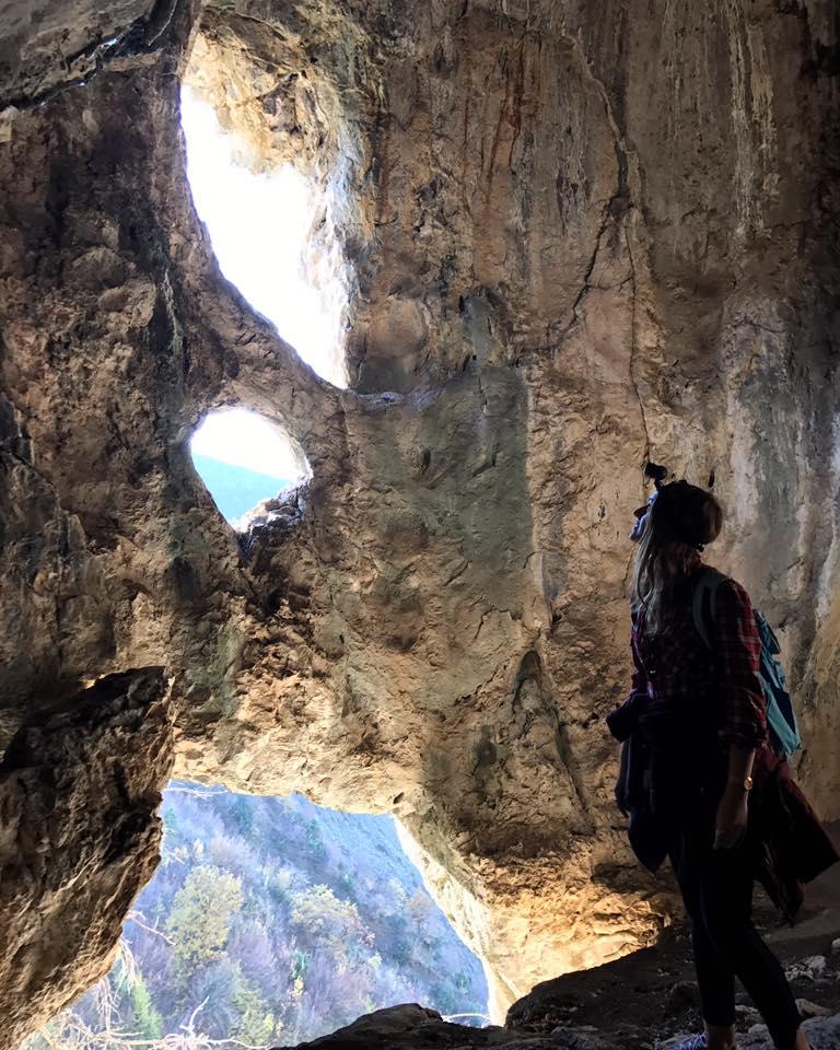 caving in Gramsh